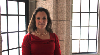Chrystia Freeland, MP for Toronto Centre