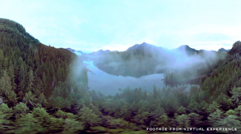 Destination British Columbia uses virtual reality to attract tourists