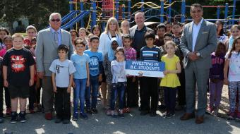 Mike Bernier, Christy Clark, B.C. schools, education cuts, VSB