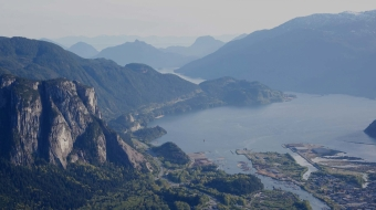 Squamish Chief, Woodfibre LNG, FortisBC, Howe Sound, tanker traffic