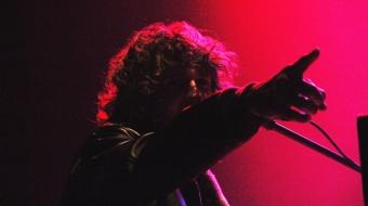 Tobias Jesso Jr. pointing