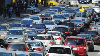 Vancouver, traffic, congestion, climate change, Climate Action Plan