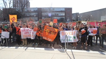 UBC Divestment protest