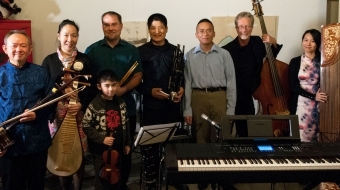 The Vancouver Chinese Music Ensemble. Photo courtesy of Mark Montgomery