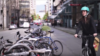 Erin O'Melinn, executive director, Hub Cycling. (Video still from DVBIA)