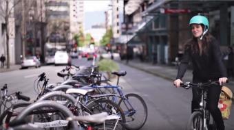Erin O'Melinn, executive director, Hub Cycling. (Video still from DVBIA)