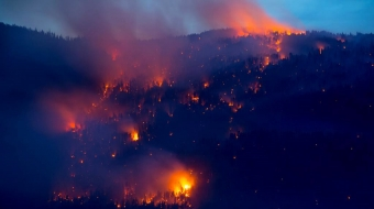 Kelowna wildfire, July 2015. Canadian Press photo