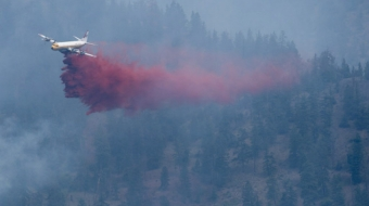 West Kelowna wildfire, 2014 file photo