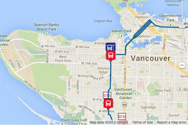 Vancouver translink bus-7187