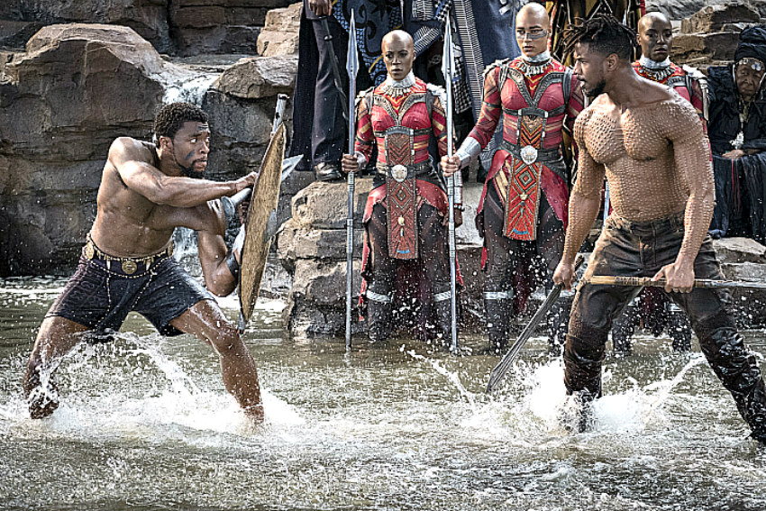 Marvel's Black Panther storms to record-breaking opening weekend