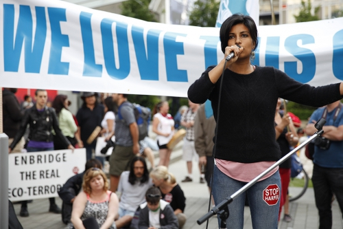 Anjali Appadurai - Global Campaign to Demand Climate Justice - Vancouver anti No