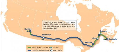 Energy East oil pipeline - TransCanada
