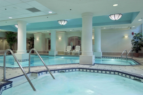 Fairmont Palliser pool