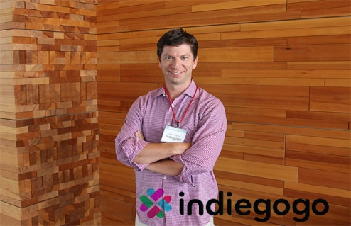 Adam Chapnick of Indiegogo at Grow conference 2012