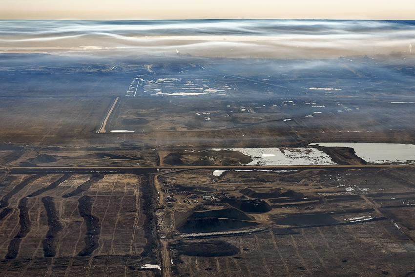 Burtynsky Oil Sands Air Quality Over Oil Sands N3g