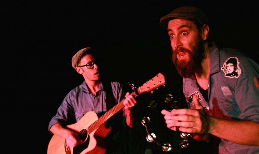 Shane Adamczak and St John Cowcher sing about the beard-o life in The Ballad of