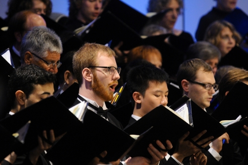 Capilano University Singers, photo courtesy of Capilano University