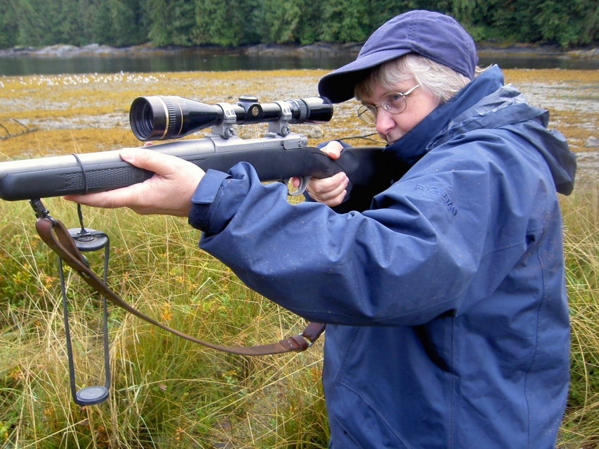 UK Diane Bradshaw not hunting in Great Bear Rainforest - Raincoast Conservation