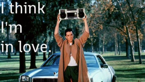 Lloyd Dobler boombox scene: Say Anything