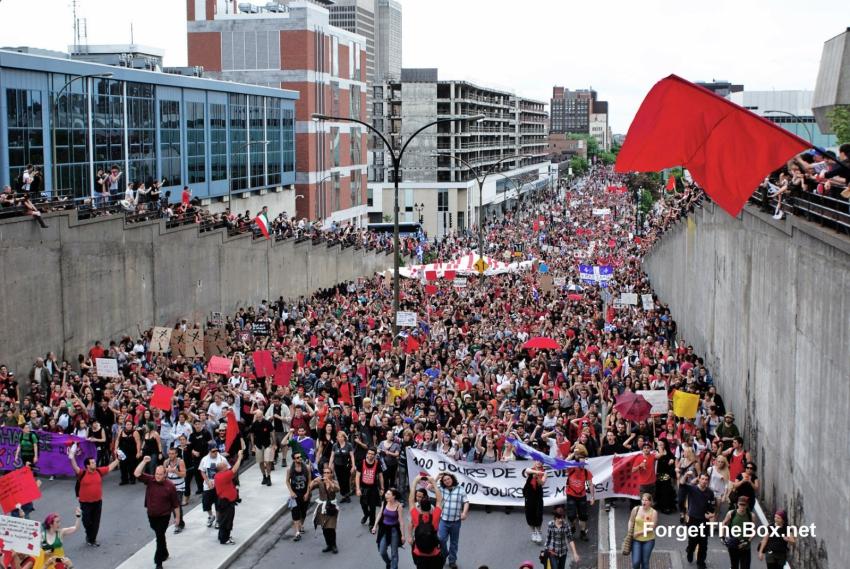 Québec strike garnered wide social support