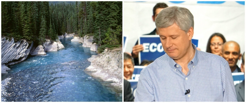 Stephen Harper, Navigable Waters Act, Canada's natural resources, environment