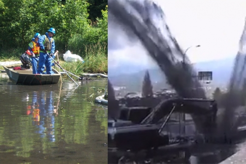 Enbridge Kalamazoo Oil spill compared to Kinder Morgan Burnaby oil spill