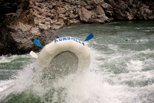 Paddle-rafting with Kumsheen