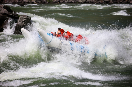 Power rafting with Kumsheen