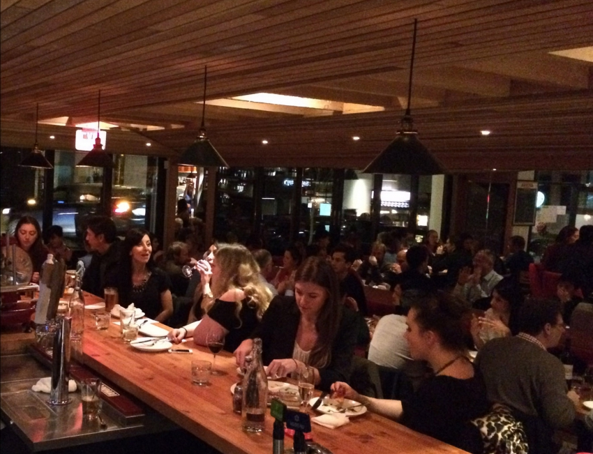 Restaurants Vancouver Denman Street