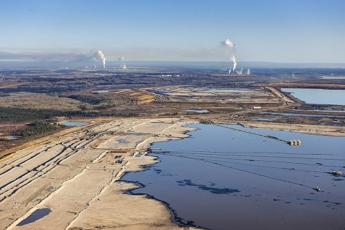 oil sands tar sands syncrude suncor tailings ponds - Andrew S. Wright
