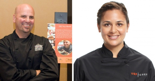 Chef Perry Mascitti, Chef Antonia Lofaso