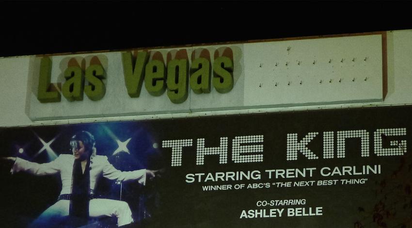 Elvis Impersonator, Las Vegas