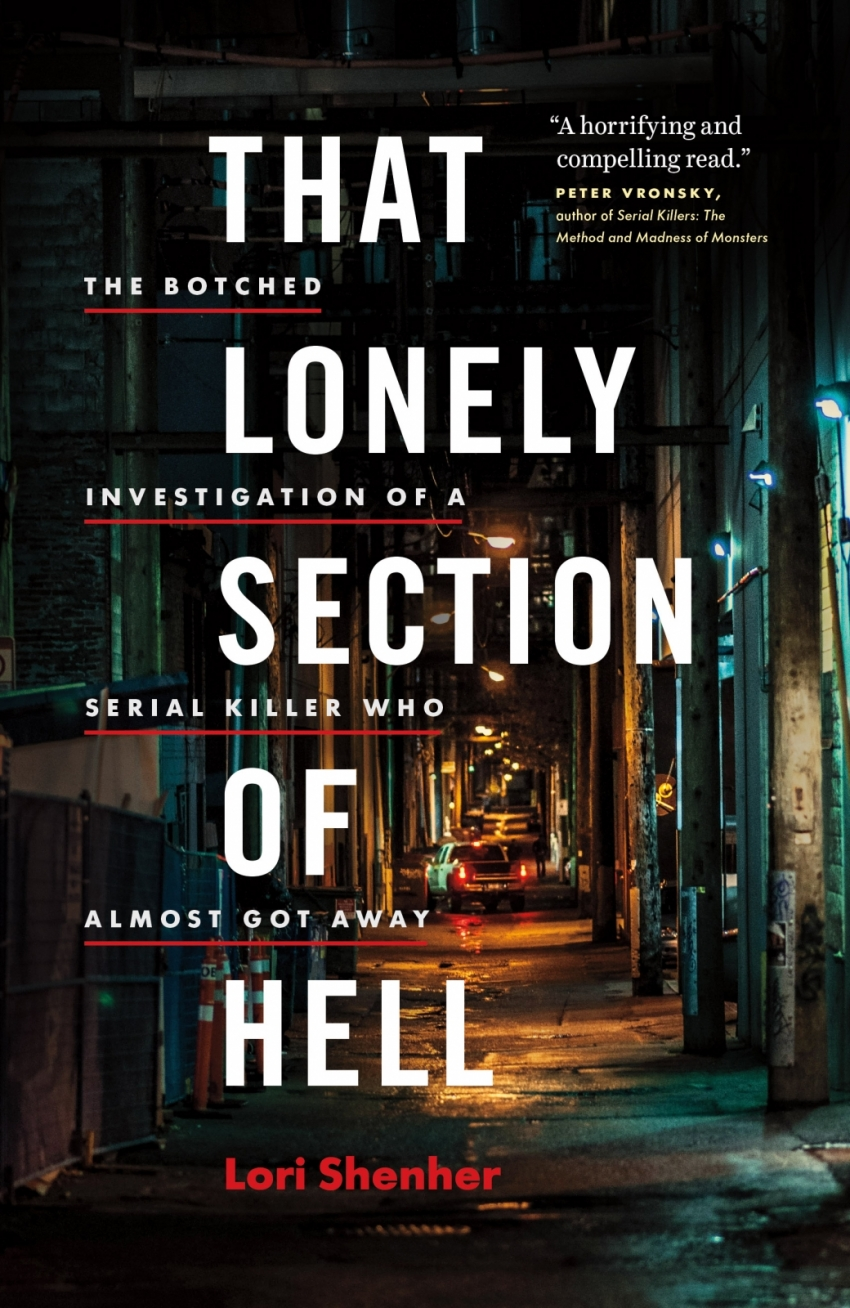 "Lori Shenher's book ""That Lonely Section of Hell"""
