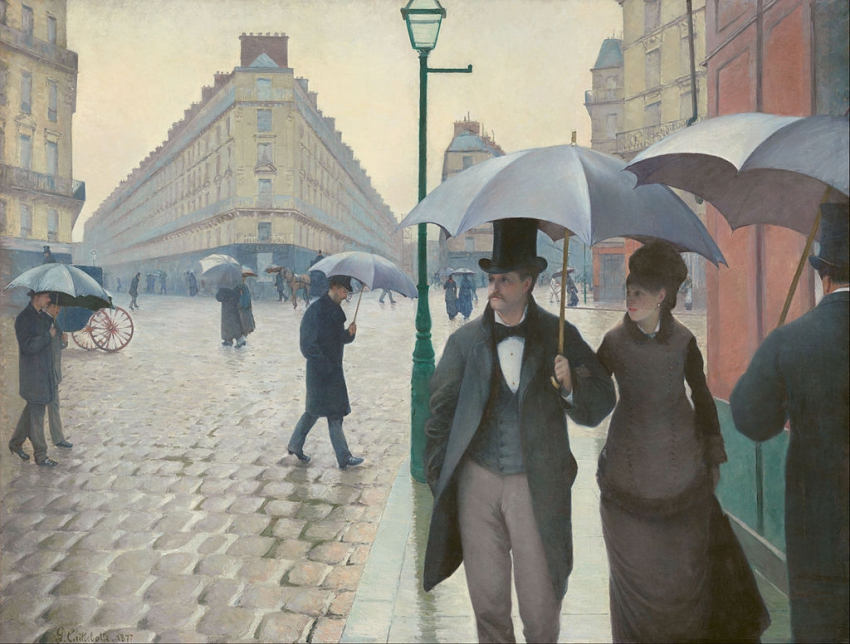 """Gustave Caillebotte - Paris Street; Rainy Day - Google Art Project"" by Gustave"