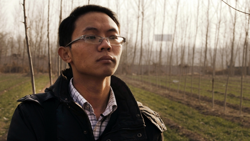"Zhang Yan, researcher and main character in ""Tricks on the Dead"""