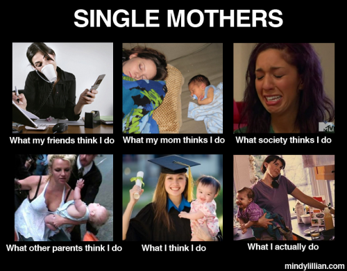 single latina mothers